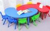 Стол детский овальный 160х90х48 см 0