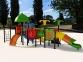 Уличный детский игровой комплекс с качелями и горками  ИК-015 0