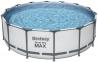 Каркасный BestWay бассейн 396х84 см, фильтр-насос 2006л/ч 0