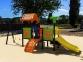 Уличный детский игровой комплекс с качелями и горками  ИК-027 0