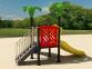 Уличный детский игровой комплекс с качелями и горками  ИК-022 0