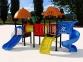 Уличный детский игровой комплекс с качелями и горками  ИК-002 0