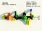 Уличный детский игровой комплекс с качелями и горками  ИК-006 2