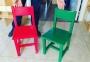 Деревянные стульчики для детского сада  0