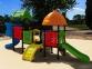 Уличный детский игровой комплекс с качелями и горками  ИК-028/1 0