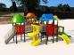 Уличный детский игровой комплекс с качелями и горками  ИК-012 0