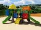 Уличный детский игровой комплекс с качелями и горками  ИК-031 0