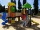 Уличный детский игровой комплекс с качелями и горками  ИК-033 0