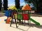 Уличный детский игровой комплекс с качелями и горками  ИК-036 0