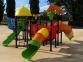 Уличный детский игровой комплекс с качелями и горками  ИК-018 0