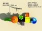 Уличный детский игровой комплекс с качелями и горками  ИК-036 2