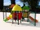 Уличный детский игровой комплекс с качелями и горками  ИК-010 0