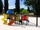 Уличный детский игровой комплекс с качелями и горками  ИК-008 0