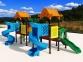 Уличный детский игровой комплекс с качелями и горками  ИК-003 0