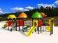 Уличный детский игровой комплекс с качелями и горками  ИК-011 0