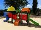 Уличный детский игровой комплекс с качелями и горками  ИК-028 0