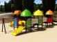 Уличный детский игровой комплекс с качелями и горками  ИК-035 0
