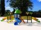 Уличный детский игровой комплекс с качелями и горками  ИК-017 0