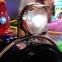 Аттракцион для детских развлекательных игровых центров 24-х местный паровоз на колесах.  4