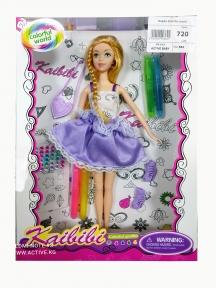 Кукла раскраска Colorful world от Kaibibi