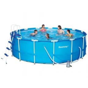 Большой круглый каркасный бассейн BastWay 457x122