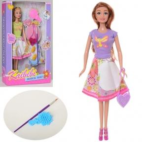Кукла раскраска, дорисуй юбку Kaibibi BLD115