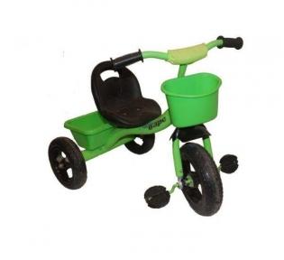Трехколесный велосипед Барс зеленый