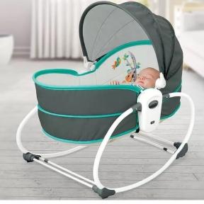 Люлька-качалка Mastela 5 в 1 для новорожденных