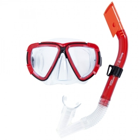 Набор для плавания  Blackstripe (маска, трубка) в ассортименте, от 14 лет