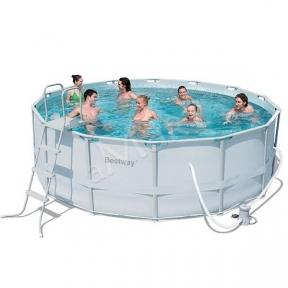 Круглый каркасный бассейн BestWay SteelPro 427 X 122 См