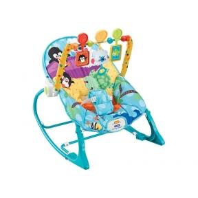 Шезлонг Fitch Baby Infant-To-Toddler Rocker (голубой, зеленый)