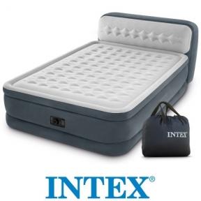 Кровать надувная Ultra Plush 152х236х86 см, с встроенным насосом 220-240V, 64448    3947850