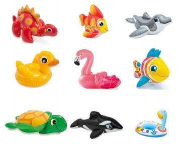 Надувные водные игрушки, 9 видов