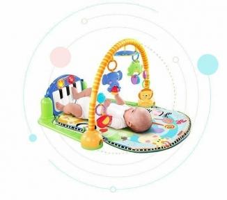 Детский развивающий коврик музыкальный