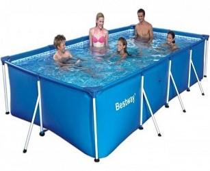 Каркасный прямоугольный бассейн 400х211х81 см