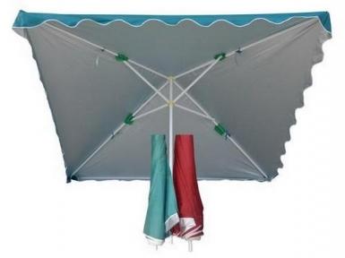 Пляжный зонт квадратной формы 2х2 метра