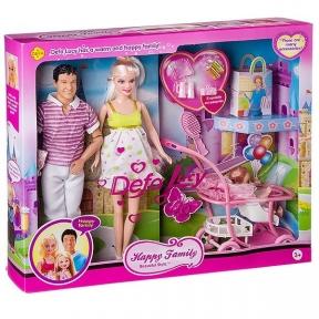 Кукла  Defa lucy Happy Family 8088