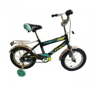 Детский двухколесный велосипед с подпорками 14''