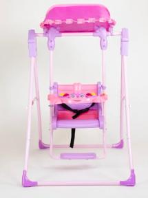 Детские качели 104 (розовый)