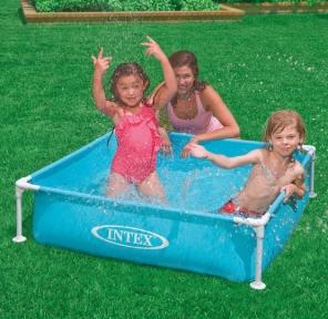 Каркасный бассейн Intex Mini Frame 122х122х30см