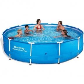 Круглый каркасный бассейн Bestway 366*76 cм