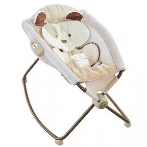 Детский шезлонг-кроватка Fitch Baby