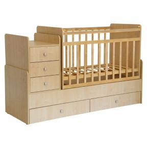 Кровать детская Фея 1100 Клен