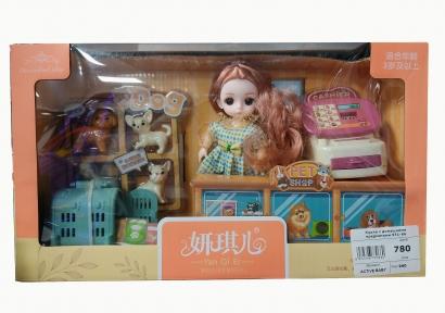 Кукла аниме с предметами