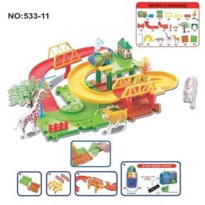 Игрушка Train blocks - сафари