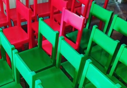 Деревянные стульчики для детского сада