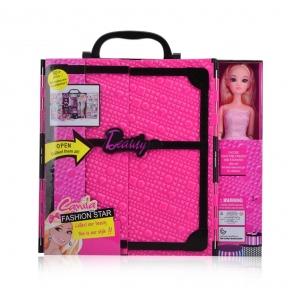 Кукла c гардеробом Beauty fashion star