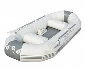 BW Надувная лодка 291х127х46 см, с вёслами, насосом, сиденьями, сумкой