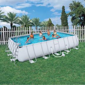 Каркасный прямоугольный бассейн Bestway  671х366х132 см