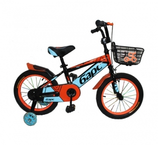 Детский двухколесный велосипед с подпорками 16''
